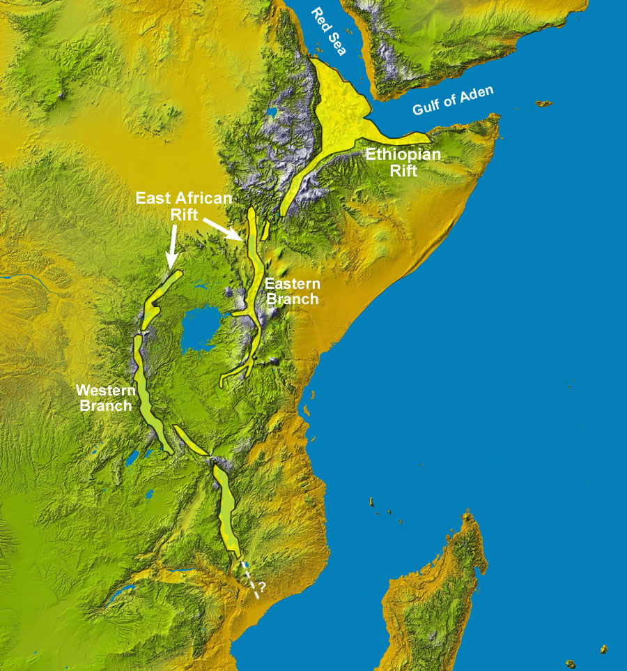 africa열곡대