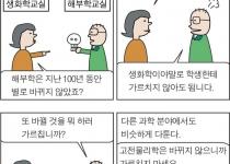 [만평] 바뀌지 않으면 죽은 학문?