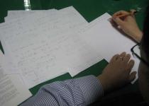 [수첩] 황교수가 말하는 '문학과 기하학, 아버지와 기하학...'