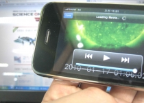 [뉴스] '태양 활동 3D 관측영상' 아이폰에서 본다