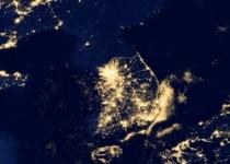 눈밝은 올빼미 지구관측위성이 본 '지구의 밤'