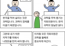 [만평] 국회의원한테 과학은...