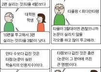 [만평] 과학과 야구